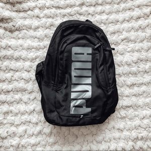 Black Puma backpack